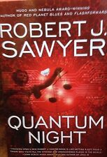 Quantum Night by Robert J. Sawyer new 2016 Book Club edition hardcover