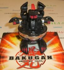 Bakugan Alpha Hydranoid Black Darkus Special Attack 670G & cards