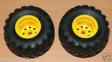 Tamiya 58205 Mad Bull/Madbull, 9805562/19805562 Front Wheels & Tyres, NEW