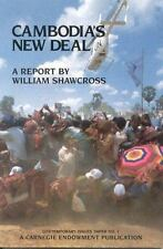 Cambodia's New Deal: A Report (Contemporary Issue Paper)