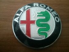 2pcs Alfa Romeo NEW GIULIA emblem badge logo insignia 74mm for 147,159, Mito,