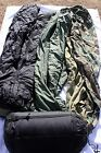 US Military 4 Piece Modular Sleeping Bag System GORTEX Bivy - EXCELLENT A+ COND