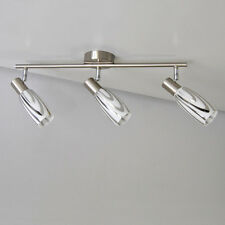 Design Deckenleuchte 51cm Deckenlampe Lichtschiene 3-flammig, LED möglich, E14