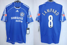 2006-2007 Chelsea Home Jersey Shirt Samsung Mobile FA CUP FINAL Lampard #8 M NWT