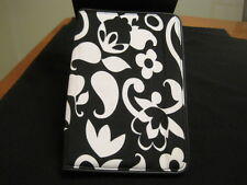 BUILT Slim Cover For Kindle Fire in Black and White Floral Design