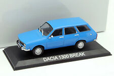 Dacia 1300 Break bleu 1:43 Altaya