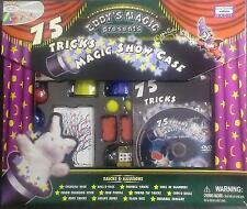 75 Tricks Magic Show Case - Eddy's Magic - Watch The DVD ** GREAT GIFT **