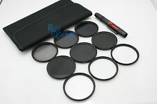 77mm IR720+IR850+IR950 IR Infrared +Star 4X 6X 8X+ND 2 4 8 filter set +LENS PEN