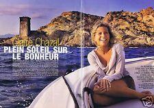 Coupure de presse Clipping 2007 Claire Chazal   (6 pages)