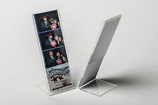 "Photo Booth Frame 2x6 acrylic picture frames 50 pcs L style slanted frame 2""x6"""