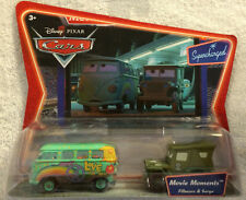 Fillmore Sarge Movie Moments Disney Pixar Cars Supercharged Double Pack NIP