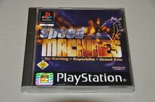 Playstation 1 jeu-speed Machines-GO Kart BIKE grand prix-complet ps1
