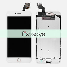 """LCD Touch Screen Digitizer Display Assembly Replacement iPhone 6 Plus 5.5"""" White"""