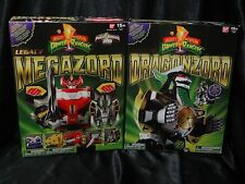 Power Rangers Legacy MEGAZORD + Legacy DRAGONZORD SEALED/NEW!! Mighty Morphin
