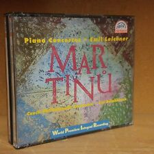 Martinu: The Five Piano Concertos / Leichner, Belohlávek