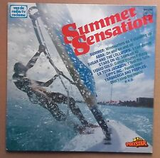 LP Various - Summer Sensation Holland 1981 ABBA, Donna Summer, The Mo, Lipps Inc