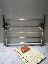 POTTERY BARN BRAYDEN Magazine/Towel Rack Chrome NWT