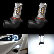 2 X HID White 9005 HB3 High Power 80W LED Cree Projector Fog Driving DRL Lights