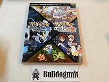 Pokemon Black and White  Version 2 Nintendo Ds Game Strategy Players Guide II