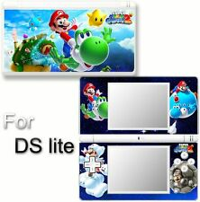 Super Mario Galaxy 2 NEW SKIN STICKER COVER for DS lite