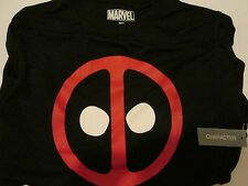 Marvel Comics Deadpool Icon Black T-Shirt Medium with Tag Make Me an Offer