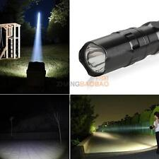 3W Super bright Police LED lamp With Clip Clamp AA Flashlight Focus Torch Light