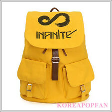 Infinite KPOP Inspirit CANVAS SCHOOL BAG BACKPACK NEW