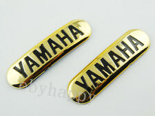 90mm Gold Emblem Decal Sticker for Yamaha Fuel Gas Tank Badge Motorcycles Custom