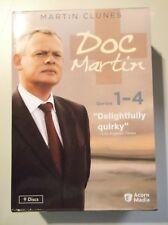 Doc Martin Collection: Series 1-4 DVD 9-Disc Set RARE Martin Clunes doctor
