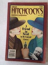 Alfred Hitchcock's Mystery Magazine Friend In Need March 1984 031217NONRH