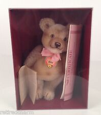 "❤Vintage Steiff Replica 1953 Jackie Teddy Bear 10"" Tall #0190/25 COA NIB SEALED❤"