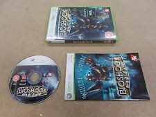 Xbox 360 Pal Game BIOSHOCK with Box Instructions
