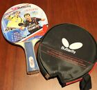 Butterfly Table Tennis Bat / Paddle / Racket with Case: TBC-201, MELBOURNE
