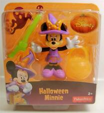 HALLOWEEN MINNIE MOUSE DISNEY WITH PUMPKIN FIGURE FISHER PRICE 2014 NEW