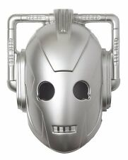 Doctor Who Cyberman Mask Costume Vacuform Licensed Dr. BBC TV Silver