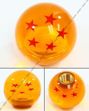 M10 X 1.25 DRAGON BALL Z 5 STAR STYLE ACRYLIC ROUND SHIFT KNOB FOR MITSUBISHI