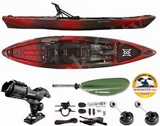 Perception Pescador Pro 120 Kayak - Sport Fishing Package - Red Tiger Camo, 2016