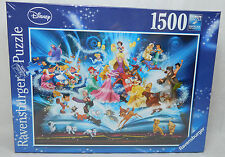 Disney Disneyland Jigsaw Puzzles Ravensburger 1500 pcs magical storybook 16318