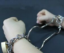 ESCAPE SHACKLES LOCKS KEYS WEB & PAPER INSTRUCTIONS HANDCUFF HOUDINI MAGIC TRICK