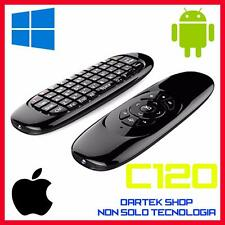 C120 2.4 G FLY Air Mouse Tastiera Wireless Telecomando per Android Smart TV PC
