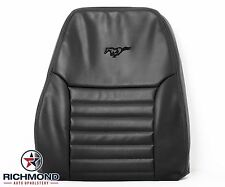 99-04 Ford Mustang GT Convertible-Driver Side LEAN BACK Leather Seat Cover BLACK