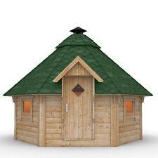 Cabane de barbecue en bois gril avec un gril de jardin toiture à choisir Abri
