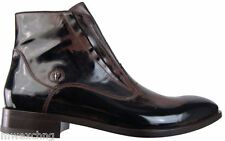 New Authentic $975 Cesare Paciotti US 9 Ankle Boots Italian Designer Shoes