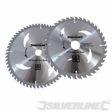2 Pack of 250mm TCT Circular Saw Blades, 30mm Bore FREE POST