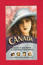 2006 CANADIANS IN HOLLYWOOD  CANADA STAMPS  BOOKLET  2154c  BK329  L950