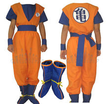 Full Set Dragon Ball Z GoKu Cosplay Costume Any Size