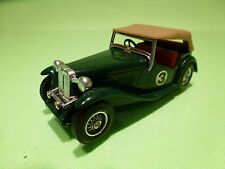 MATCHBOX Y-8 YESTERYEAR MG TC 1945 - GREEN 1:43 - RARE SELTEN - EXCELLENT