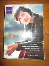 "Vintage 2003 JC Penney Fall & Winter ""Big Book"" Catalog"