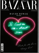 HARPER'S BAZAAR UK David Bowie Commemorative Collector's Edition TRACEY EMIN New