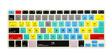 Adobe Premiere Pro CC Keyboard Cover Skin For iMac MacBooks Pro Air 13 15